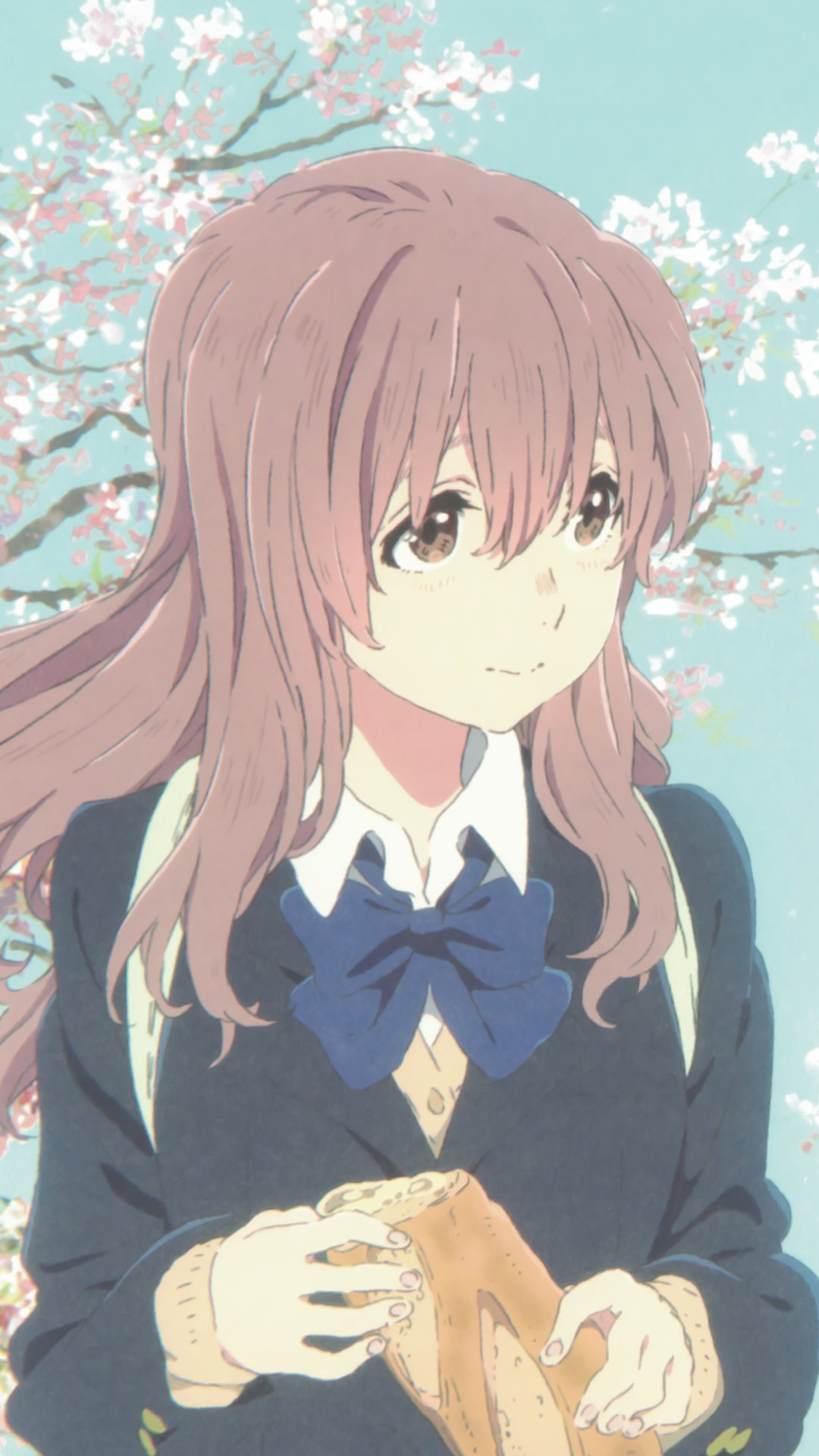 Cute Ipod Touch Wallpaper Koe No Katachi Shouko Nishimiya Iphone 6 Plus Wallpaper