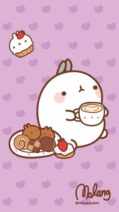 Kawaii Molang Iphone Wallpapers – kawaiifactor