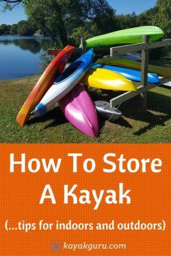 Small Of Kayak Storage Ideas