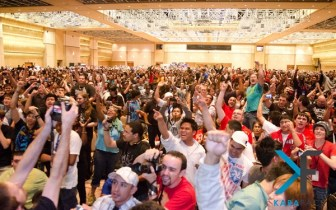 The crowd at EVO 2011