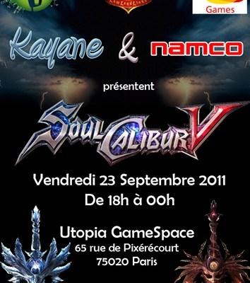 Kayane & Namco Invitational Soul Calibur V Session