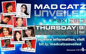 Mad Catz Unveiled & PAX East