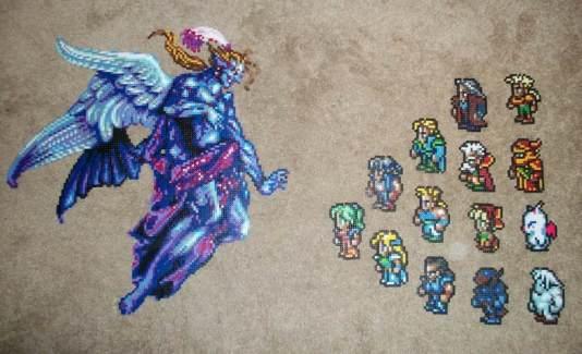 Final Fantasy VI avec les sprites originaux
