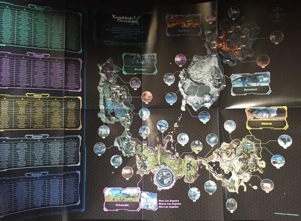 La carte du jeu
