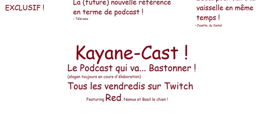 Kayane Cast