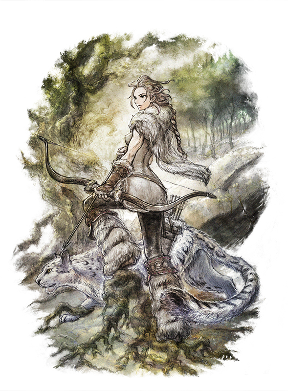 Octopath Traveler Haanit