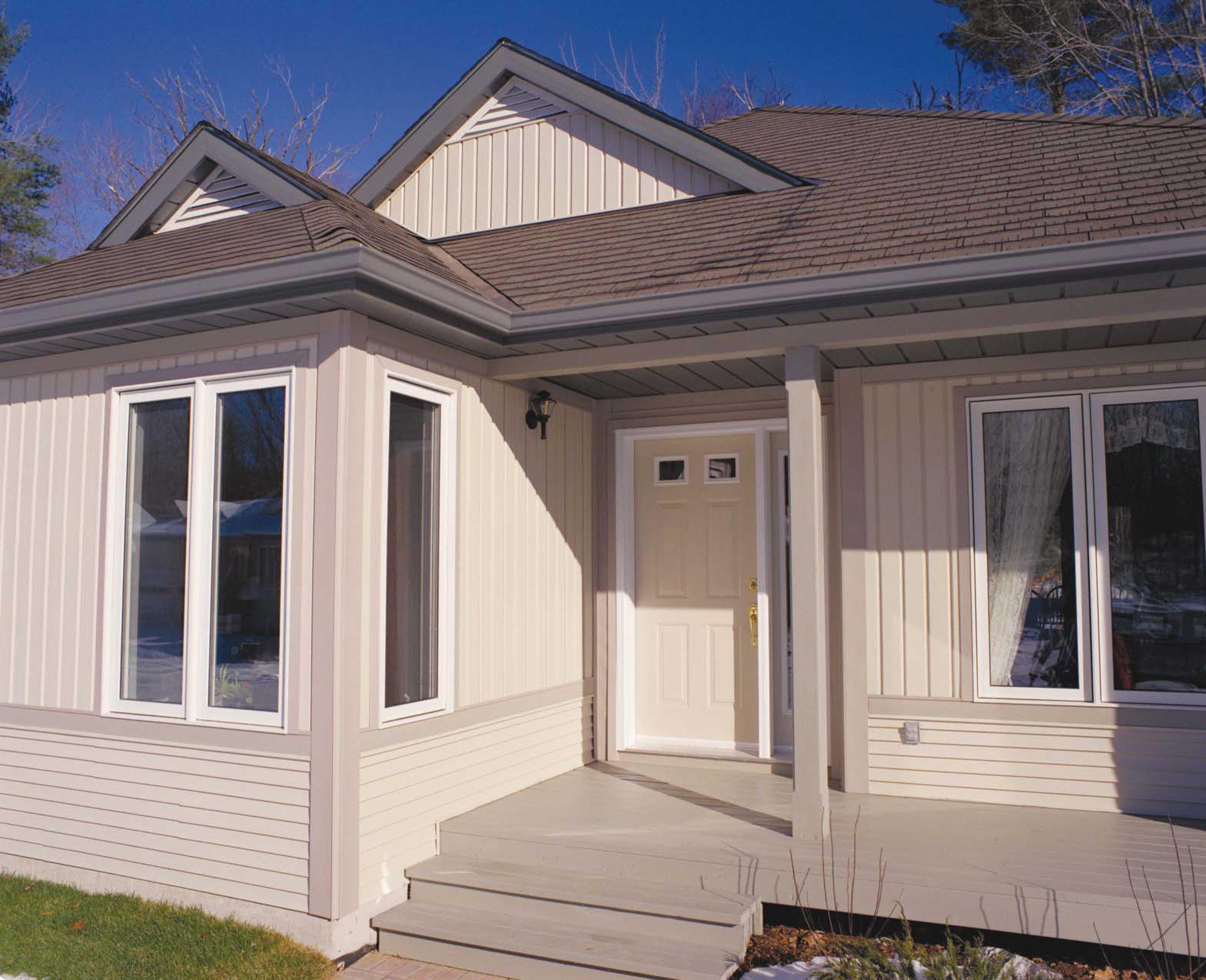 Horizontal Board And Batten Siding D5 Vertical Kaycan