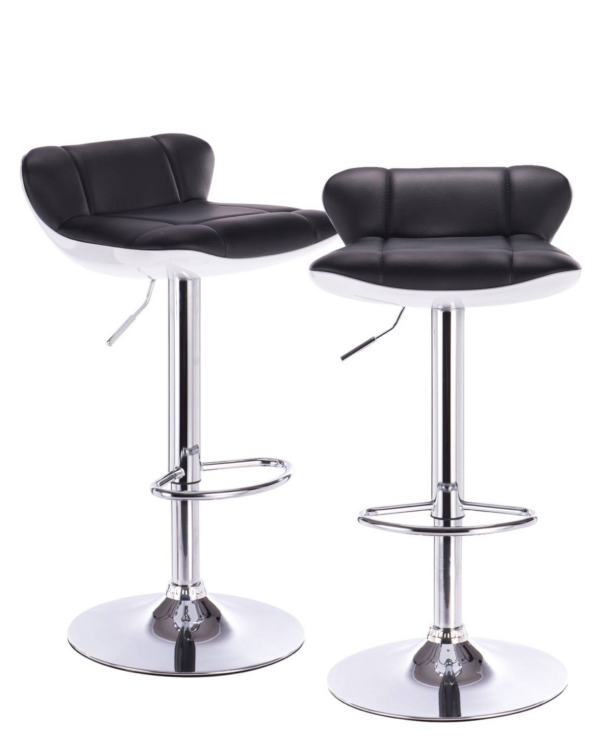 Charly Lot De 2 Tabourets De Bar Noirs Charly Lot De 2 Tabourets De Bar Noirs Tabouret Design Pas Cher
