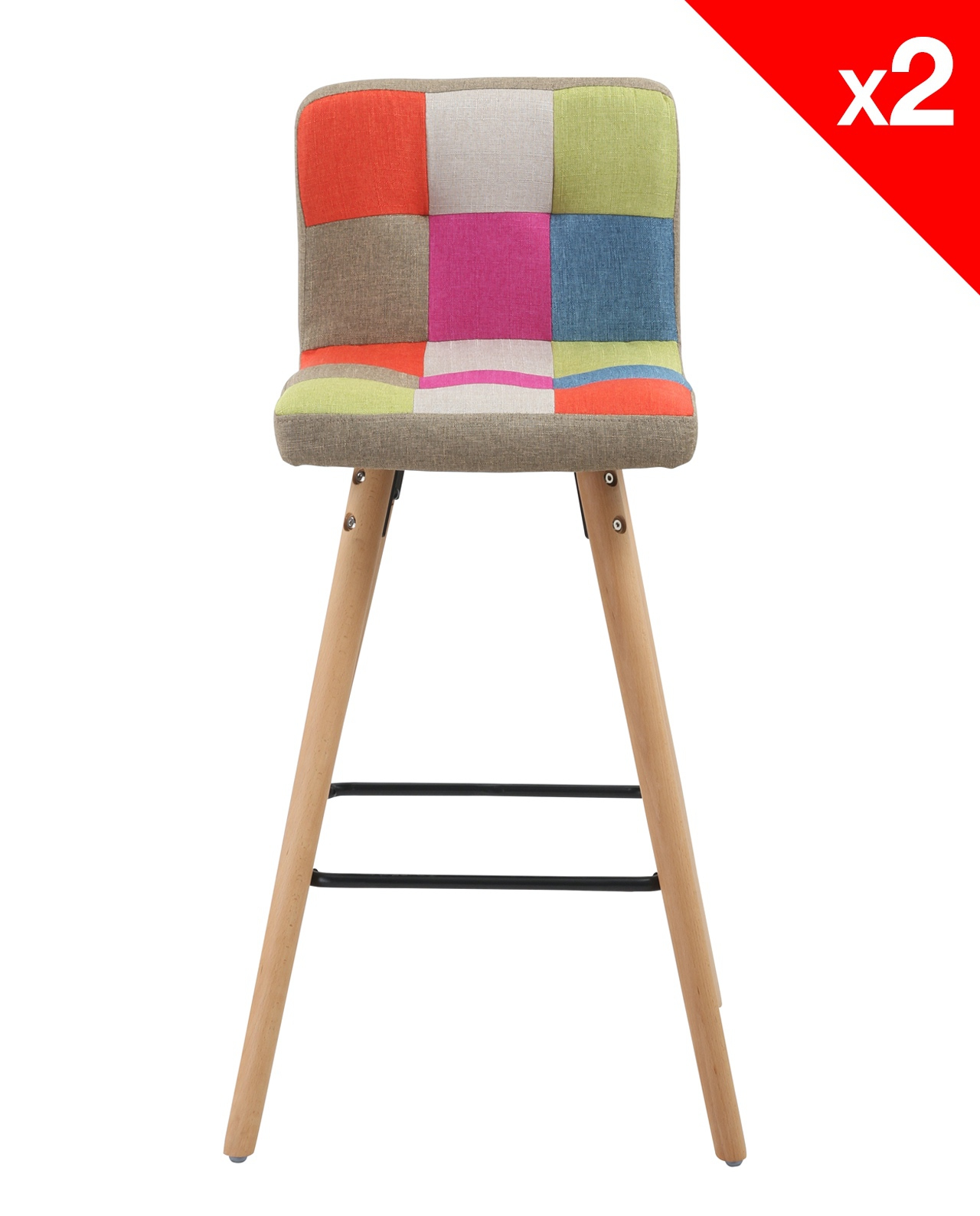 La Redoute Chaises Scandinaves Chaise Haute Scandinave Patchwork