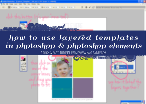 How To Use Layered Digital Scrapbooking Templates