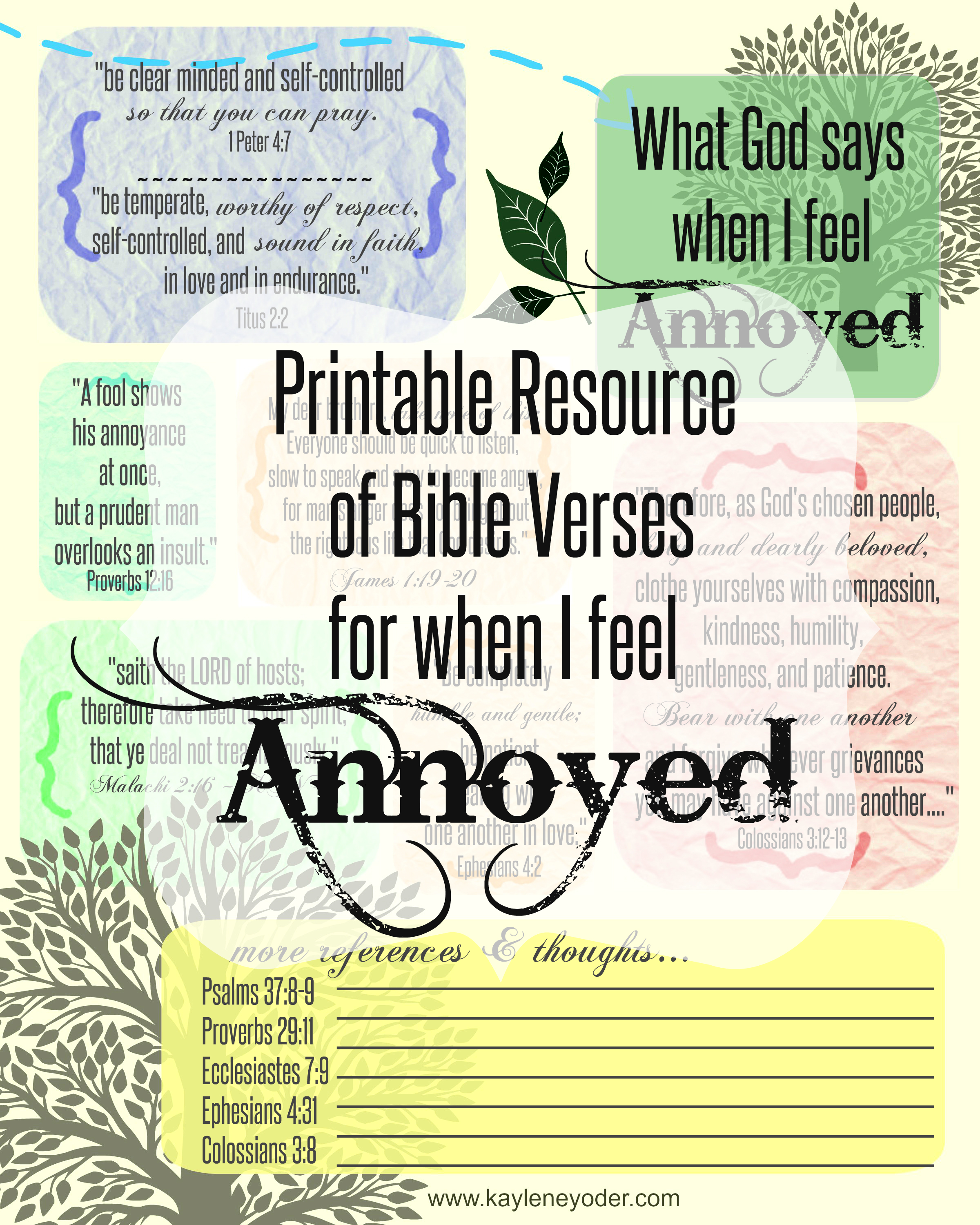 Awesome Pride Bible Verses About Humility Niv Free Printable Resource When I Feel Annoyed What God Says When We Feel Annoyed Kaylene Yoder Bible Verses About Humility Instead Bible Verses inspiration Bible Verses About Humility