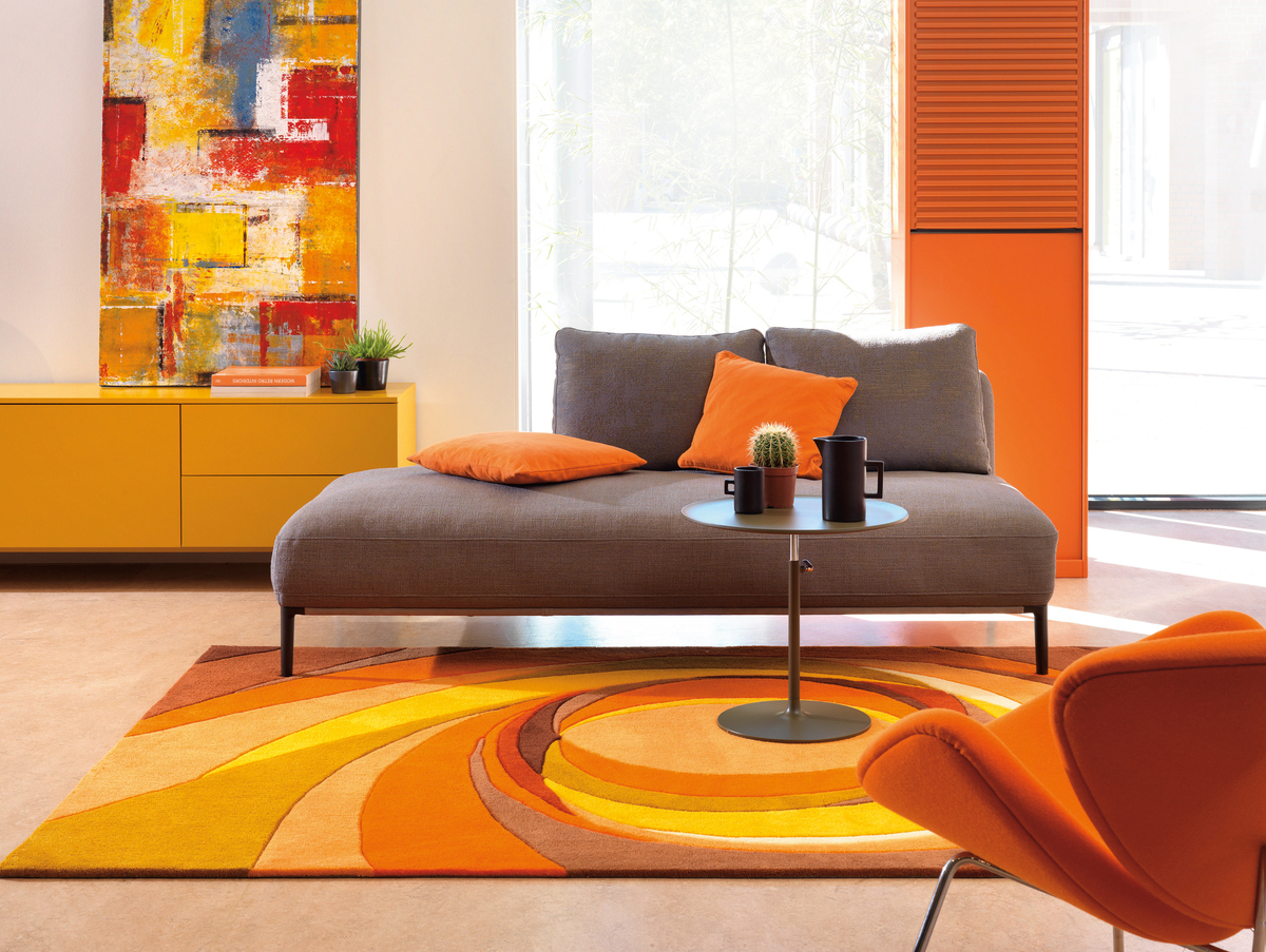 Tapis Arte Espina Boutique Paris Détails Sur Arte Espina Rétro Tapis Pop Art Tapis Salon Rouge Orange