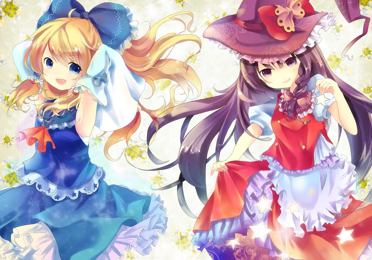 Cute Girly Christmas Wallpapers Touhou Wallpapers Pack 06 05 12