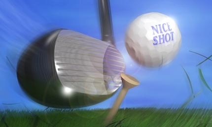 梶谷翼のゴルフの飛距離は?