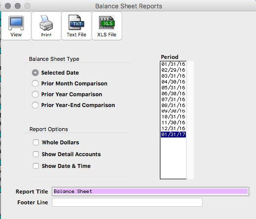 How to Create Balance Sheet Report - CheckMark Knowledge Base