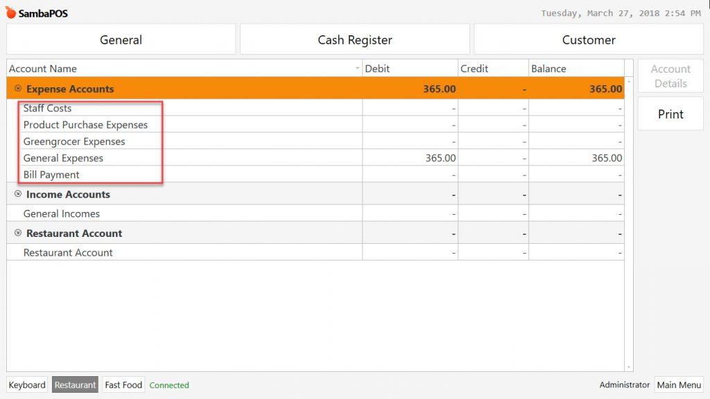 548b How to Use Cash Register? \u2013 SambaPOS Knowledgebase