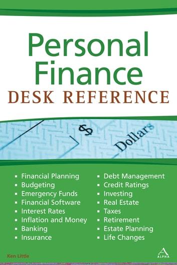Personal Finance Desk Reference eBook by Ken Little - 9781440696961