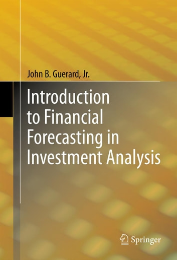 Introduction to Financial Forecasting in Investment Analysis eBook