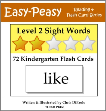 Level 2 Sight Words 72 Kindergarten Flash Cards eBook by Chris - flash cards words