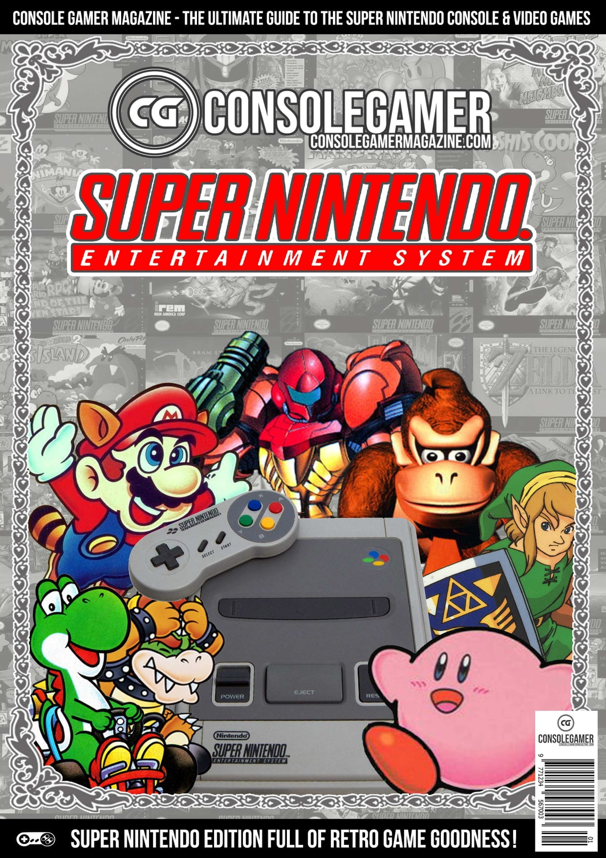 Console Magazine History Of The Super Nintendo Snes Ebook By Brian C Byrne Rakuten Kobo