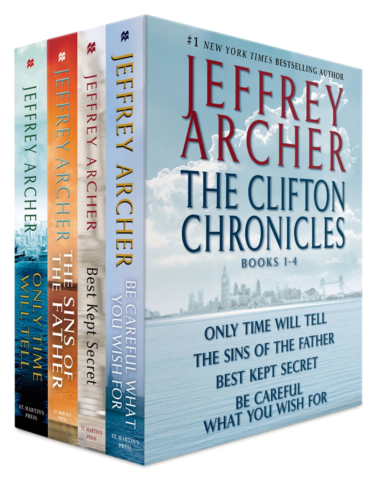 Jeffrey Archer Libros The Clifton Chronicles Books 1 4 Ebooks By Jeffrey Archer Rakuten Kobo