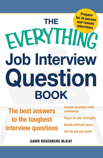 The Everything Job Interview Question Book eBook by Dawn Rosenberg