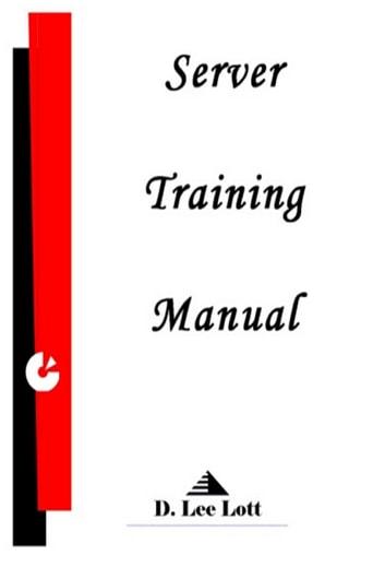 Server Training Manual eBook by D Lee Lott - 1230001604320