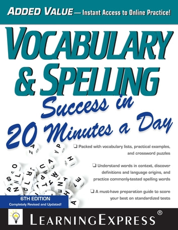 Vocabulary  Spelling Success in 20 Minutes a Day eBook by