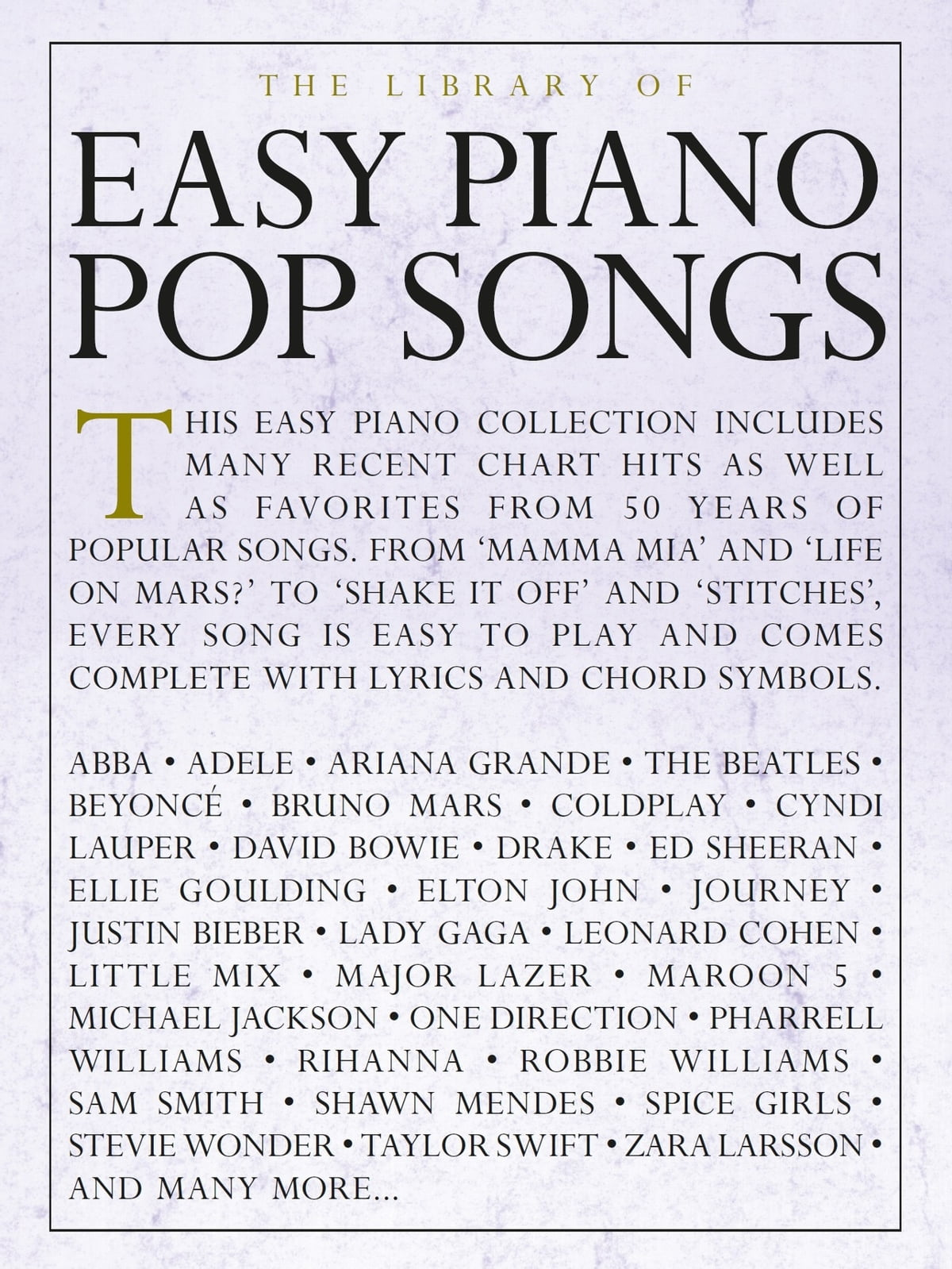 Bad James Bay Chords The Library Of Easy Piano Pop Songs Ebook By Wise Publications Rakuten Kobo