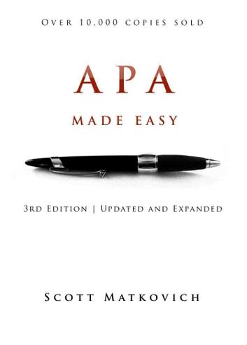 APA Made Easy eBook by Scott Matkovich - 1230000226303 Rakuten Kobo