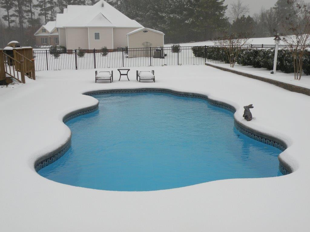 Pool Heizen Im Winter Fiberglass Swimming Pool Installation In Burlington Nc