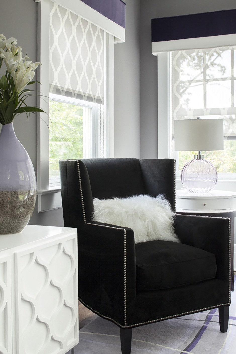 Online Shop Design Living Spaces - Karen B. Wolf Interiors