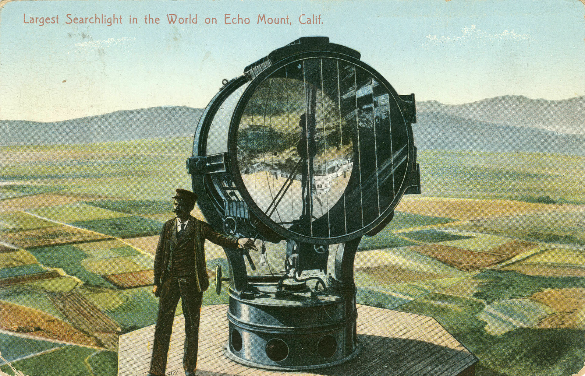 Carbon Arc Searchlight The World 39s Largest Searchlight Once Scanned L A From The