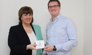 Dr. Mulcahy, President IT Carlow with Richard Lally (1)