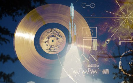 NASA Golden Record sent on Voyager spacecrafts