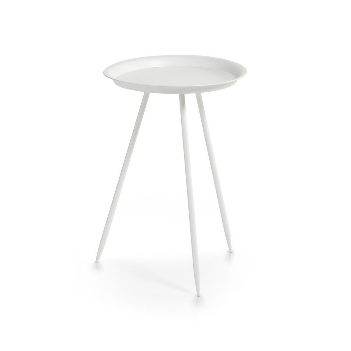 Table Metal Blanc Table Basse 3 Pieds Metal Blanc Zeller 17002 Kdesign