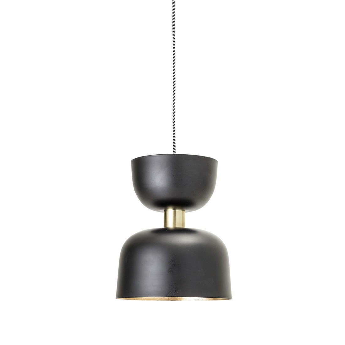 Suspension Noir Metal Bloomingville Suspension Design Metal Noir Laiton 82040770 Kdesign