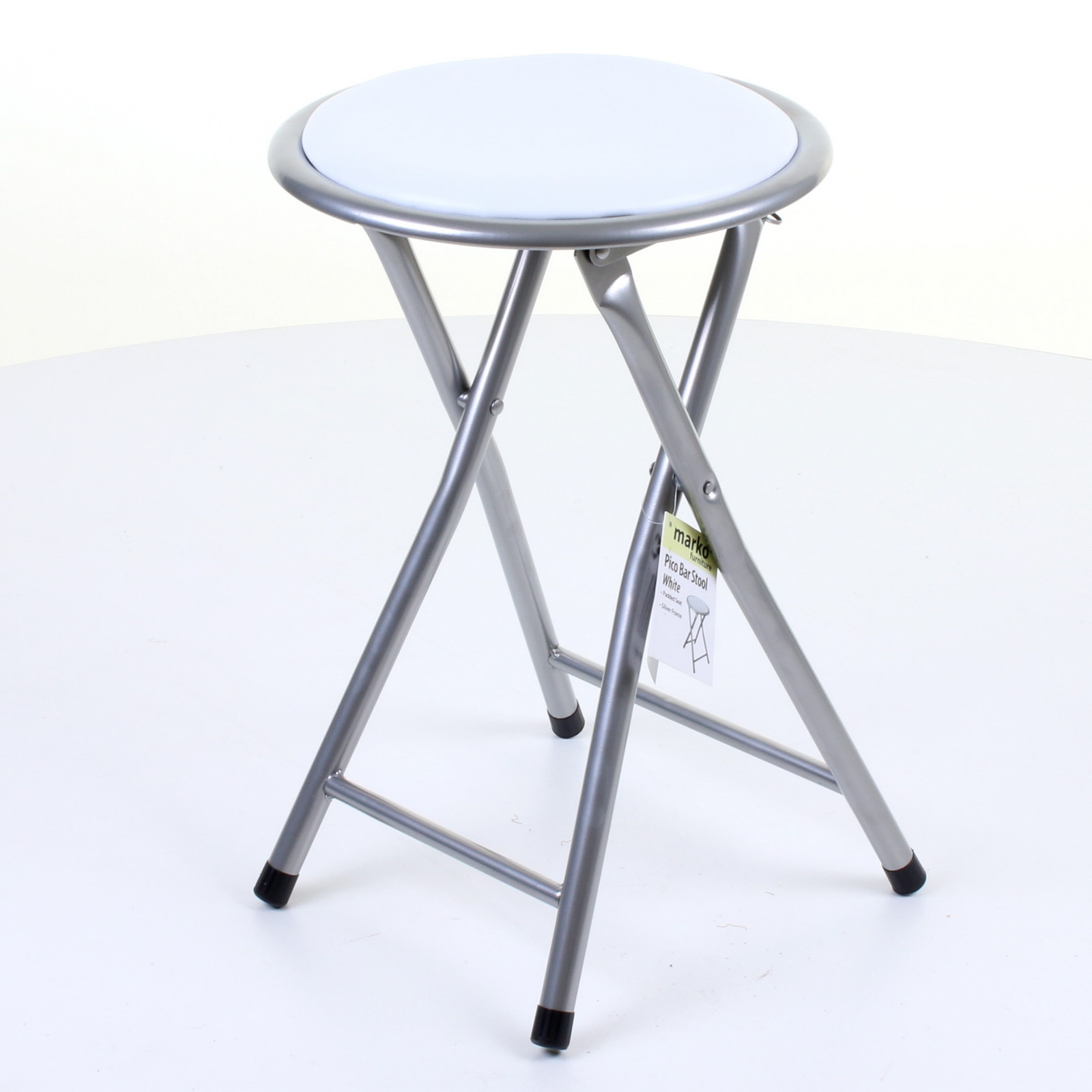 Padded Stool Folding Stool Round Breakfast Chair Seating Parties Office