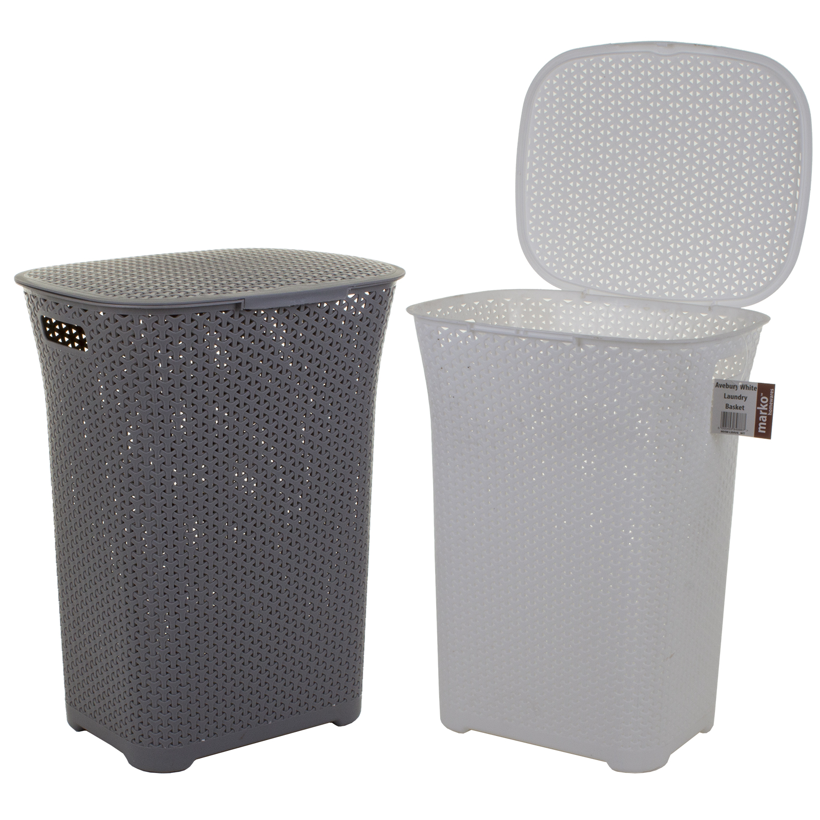 Clothes Baskets Plastic Laundry Basket Clothes Clothing Washing Hamper