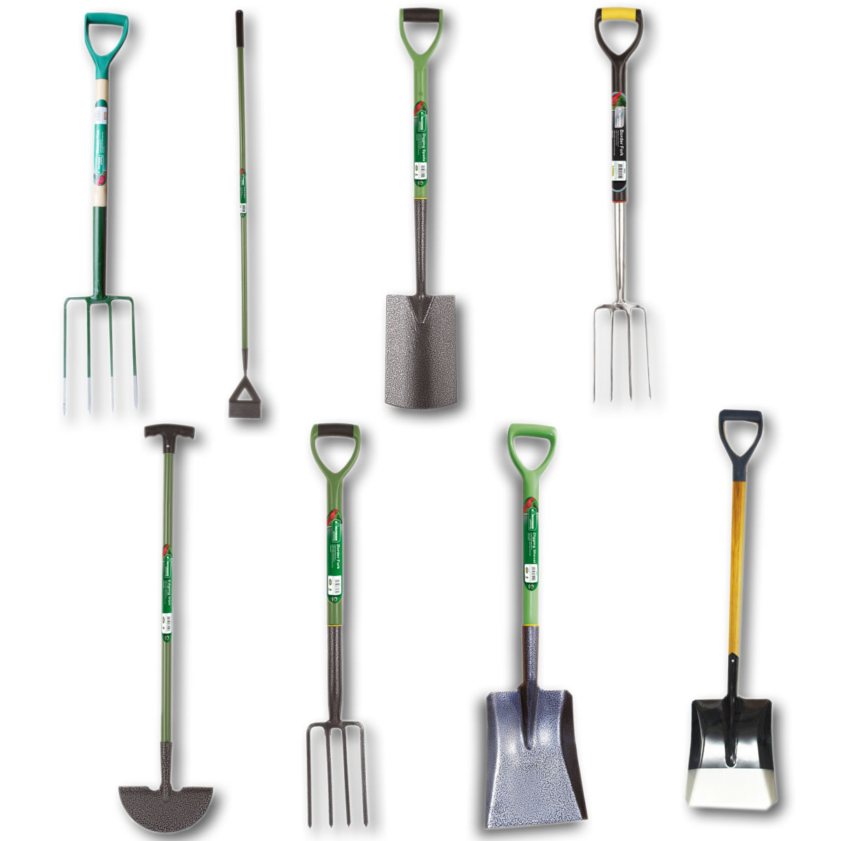 Garden Tools Kingfisher Garden Tools Forks Hoe Spade Edging Shovels