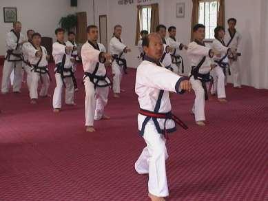 Ki Cho training with HC Hwang