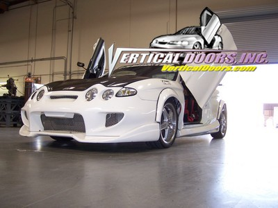 HYUNDAI TIBURON 2000-2001 ALL VERTICAL LAMBO DOOR CONVERSION KIT