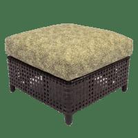 Antalya Outdoor Slipper Chair & Ottoman - KDRShowrooms.com