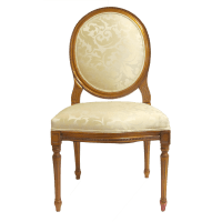 Louis XVI Oval Dining Chair - KDRShowrooms.com
