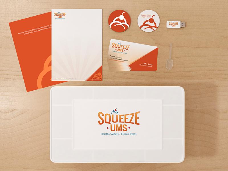 Squeeze-Ums Branding