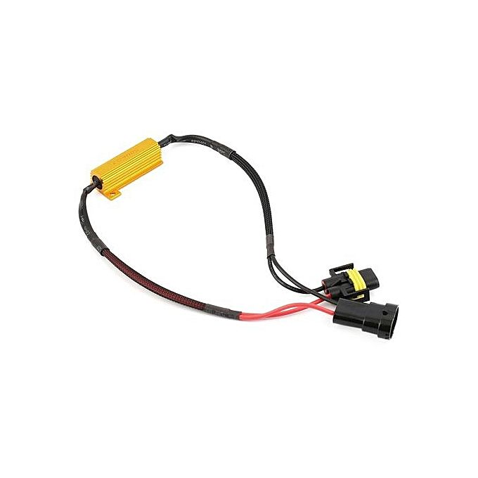h11 led load resistor wiring harness