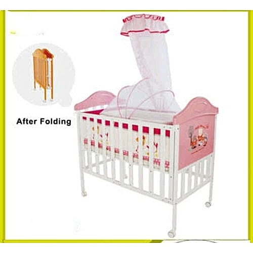 Baby Cots Kenya Generic New Metalic Baby Cot With Single High Pole