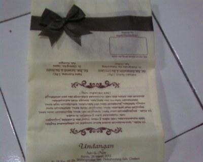 Undangan Pernikahan Indri Cirebon