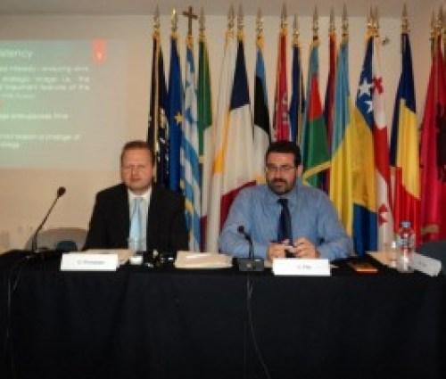 Ο Γιώργος Πρωτόπαπας (αριστερά) με το Δρ. Γιώργο Φίλη (δεξιά)