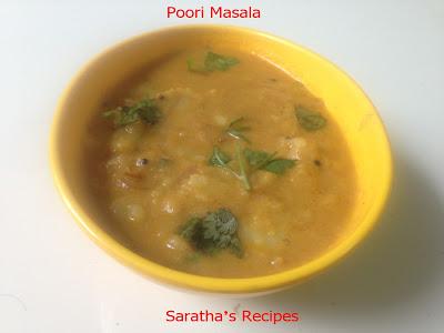 பூரி மசாலா / Poori Masala